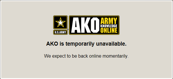 MilitaryCAC's AKO specific problems and solutions page