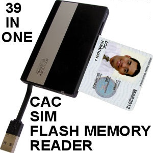 image of SGT114 USB CAC Reader