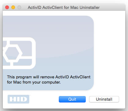 Uninstall-ActivClient