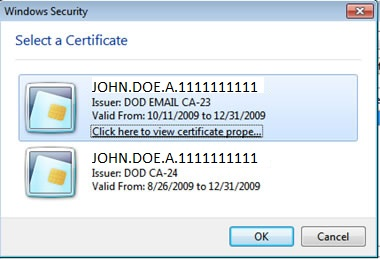 image showing 2 certificates