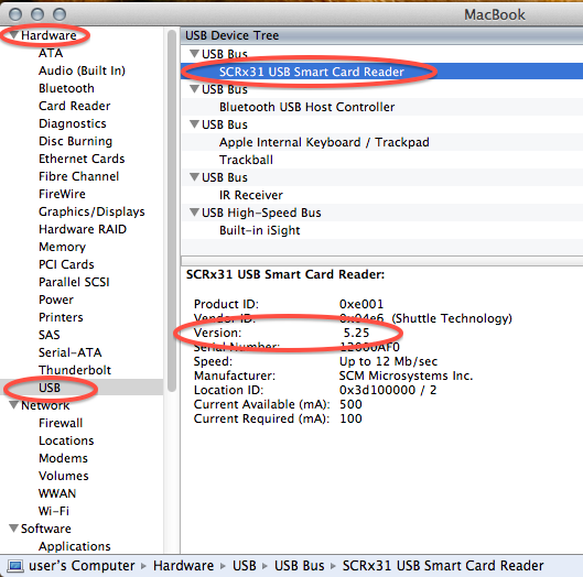 free cac card reader software for mac